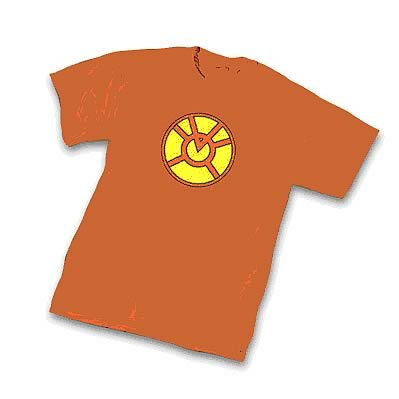 Green Lantern Orange Lantern Symbol T-Shirt