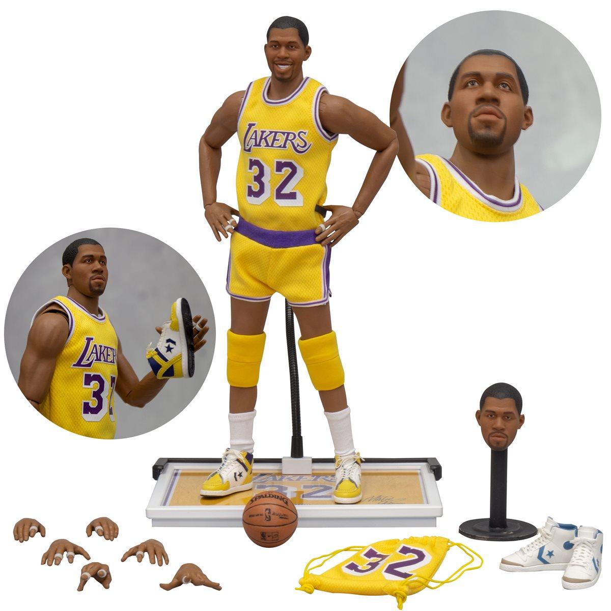 NBA Los Angeles Lakers Earvin Magic Johnson 1:6 Scale Action Figure