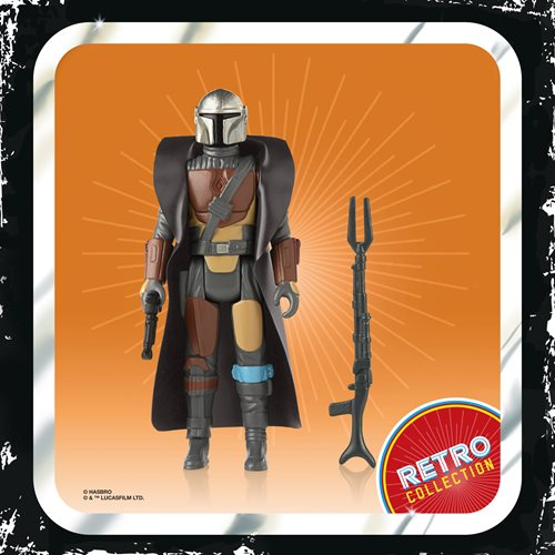 Star Wars The Mandalorian The Retro Collection Action Figures Wave 1 Case