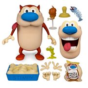 Ren and Stimpy Deluxe 6-Inch Stimpy Action Figure