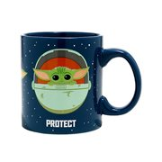 Star Wars: The Mandalorian Protect Attack Snack The Child 20 oz. Mug