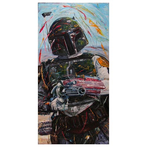 Star Wars Boba Fett A Good Day To Die Paper Giclee Print