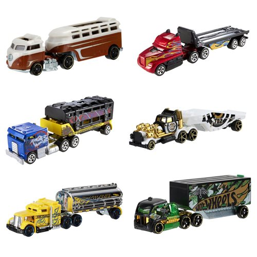 Hot Wheels Track Trucks Wave 4 Case