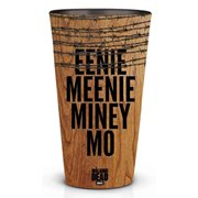 Walking Dead Eenie Meenie Minee Moe Pint Glass