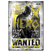 Batman v Superman: Dawn of Justice Wanted Hero MightyPrint Wall Art Print