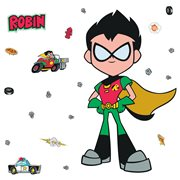 Teen Titans Go! Robin Peel and Stick Giant Wall Decals