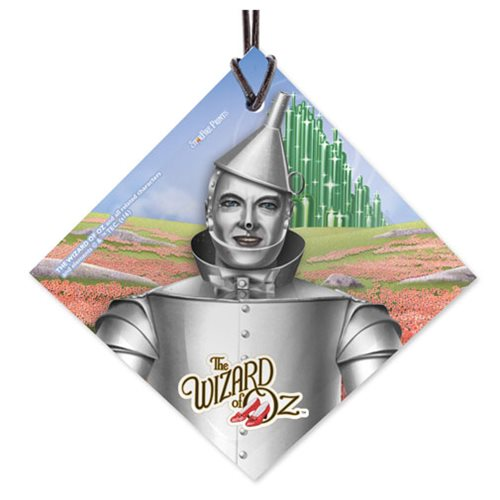 Wizard of Oz Tin Man StarFire Prints Hanging Glass Ornament