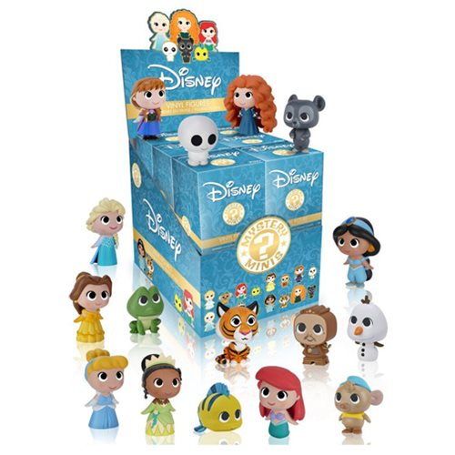 Disney Princesses Mystery Minis Vinyl Figure Display Case