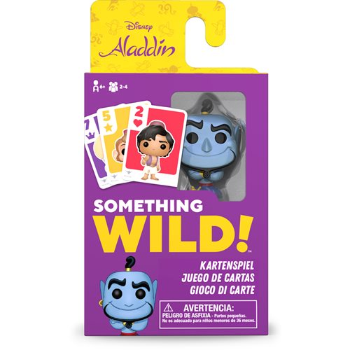 Aladdin Something Wild Pop! Card Game - Deutsch / Espanol / Italiano Edition