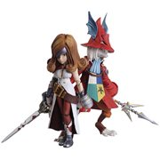 Final Fantasy IX Freya Crescent and Beatrix Bring Arts 2-Pack Action Figures