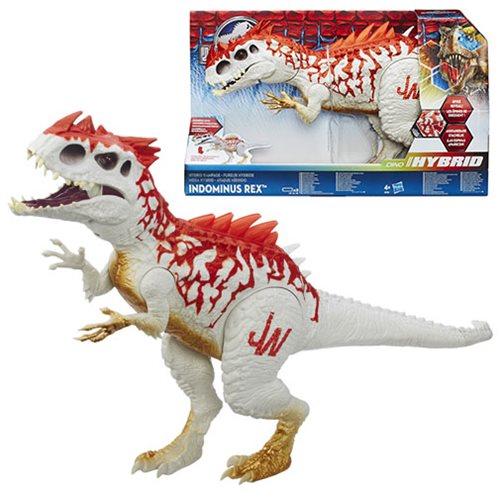 Jurassic World Dino Hybrid Rampage Indominus Rex Dinosaur Action Figure