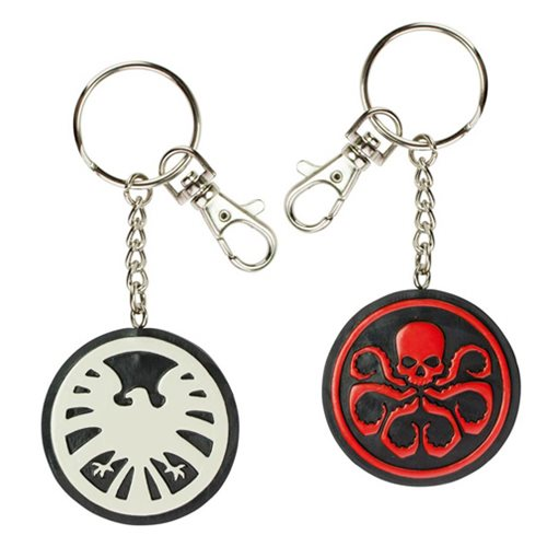 Marvel Agents of S.H.I.E.L.D. vs. Hydra Bendable Key Chain