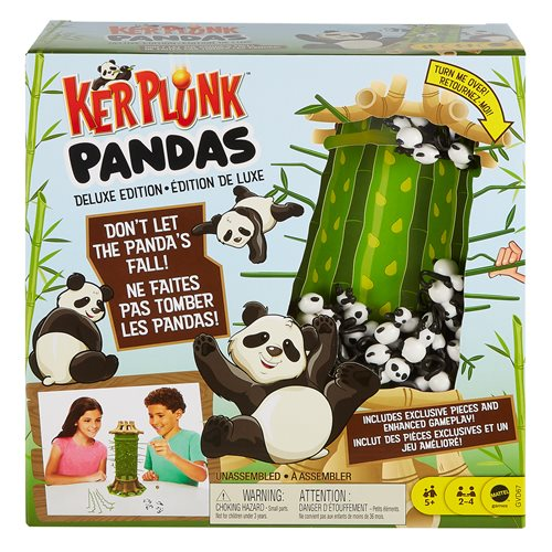 Kerplunk Pandas Deluxe Game