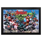 Avengers Ultimate Assemble Framed Art Print