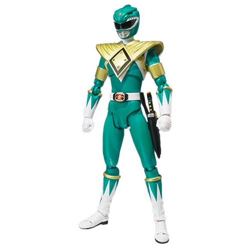 Mighty Morphin Power Rangers Green Ranger SH Figuarts Action Figure - SDCC 2018 Exclusive