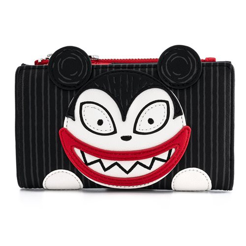 Nightmare Before Christmas Scary Teddy and Undead Duck Flap Wallet
