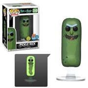 Rick and Morty Pickle Rick Glow-in-the-Dark Pop! Vinyl Figure - San Diego Comic-Con 2019 Exclusive, Not Mint