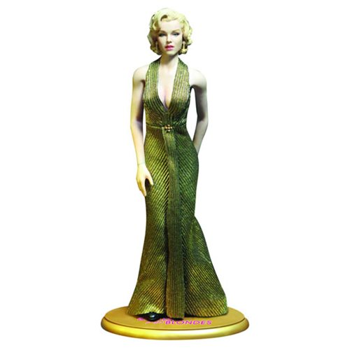 Marilyn Monroe Gold Dress 1:6 Scale Action Figure