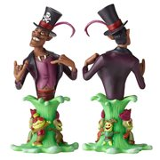Princess and the Frog Dr. Facilier Grand Jester Mini-Bust