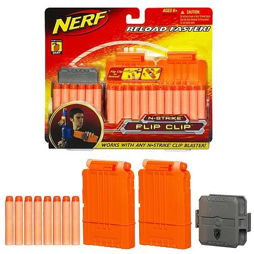 Spielzeug für draußen Nerf Nstrike Flip Clip Refill