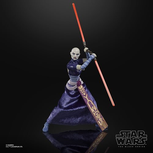 Star Wars The Black Series Asajj Ventress 6-Inch Action Figure