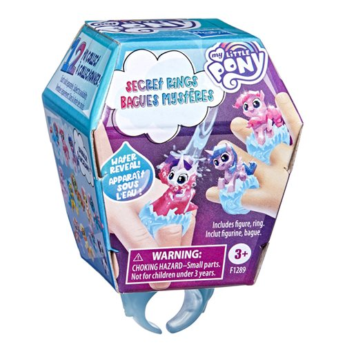 My Little Pony Secret Rings Mini-Figures Case