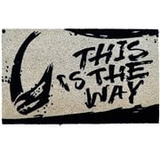 Star Wars The Mandalorian This Is The Way Coir Doormat