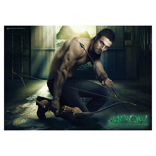 Arrow Oliver Queen MightyPrint Wall Art Print
