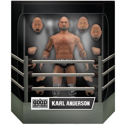 Good Brothers Wrestling Ultimates Karl Anderson 7-Inch Action Figure