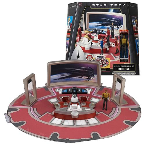 Star Trek Movie Enterprise Bridge Playset