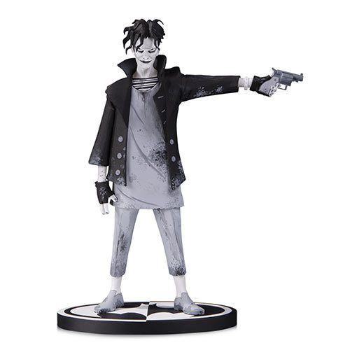 Batman black and white the joker by gerard way statue