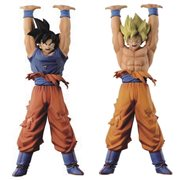 Dragon Ball Super Sculpture Spirit Bomb Goku Statue Set