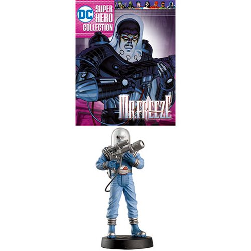 DC Superhero Best Of Mr. Freeze Statue with Collector Magazine #60