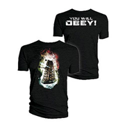 Doctor Who Dalek You Will Obey T-Shirt