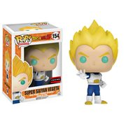 Dragon Ball Z Super Saiyan Vegeta Pop! Vinyl Figure - Exclusive