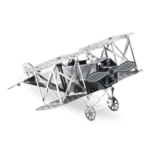 Fokker D-VII Aircraft Metal Earth Model Kit