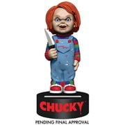 Childs Play Chucky Solar Powered Body Knocker