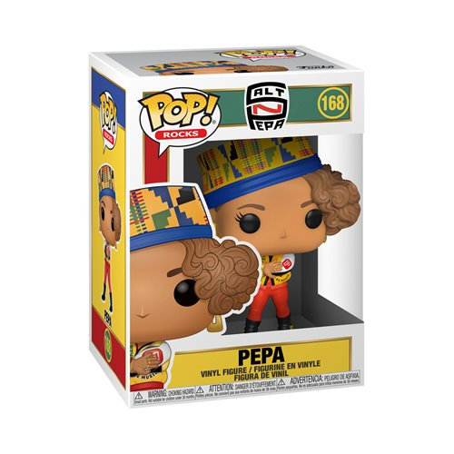 Salt-N-Pepa Pepa Pop! Vinyl Figure