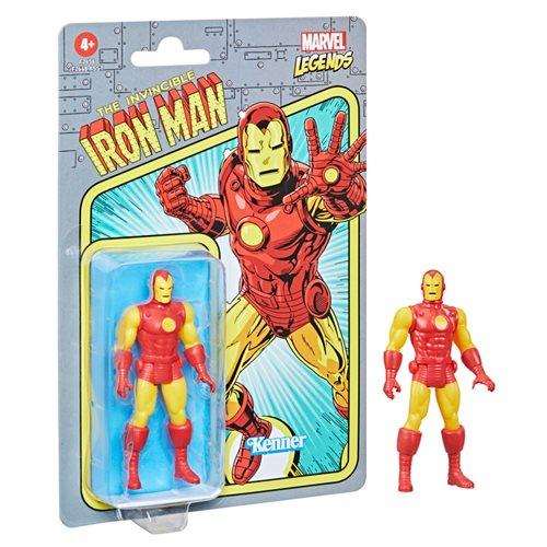 Marvel Legends Retro Iron Man Action Figure