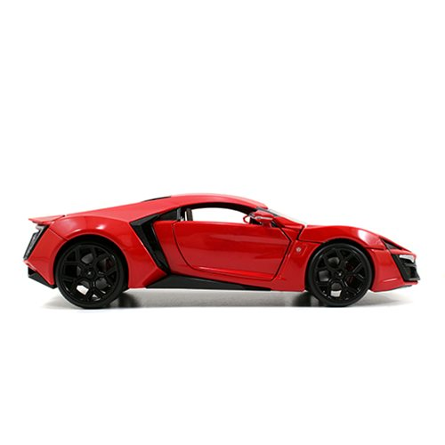 Fast and the Furious W. Motors Lykan Hypersport 1:24 Scale Die-Cast Metal Vehicle