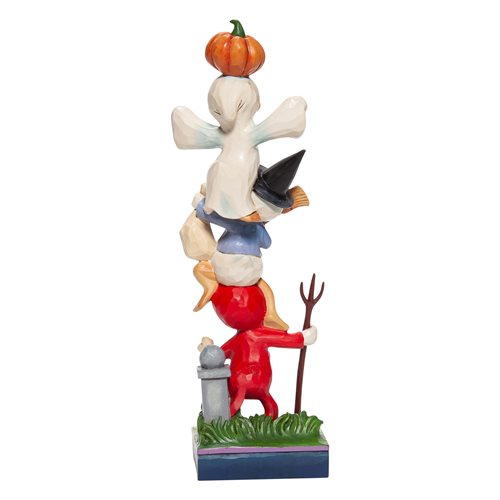 Disney Traditions Halloween Huey, Dewey, and Louie Teetering Trick-or-Treaters Statue by Jim Shore
