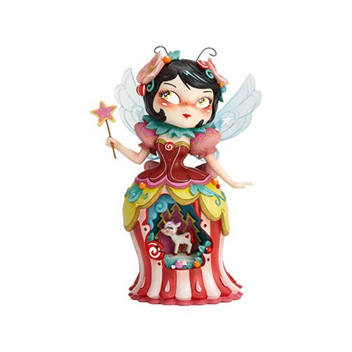 The World of Miss Mindy Unicorn Woodland Fairy Statue