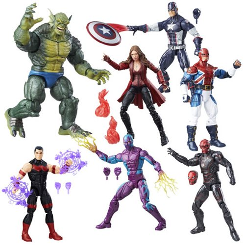 Captain America Civil War Marvel Legends Figures Wave 3