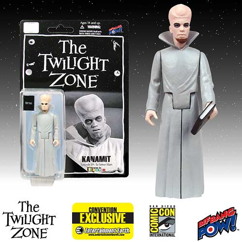The Twilight Zone Kanamit 3 3/4-Inch Action Figure In Color Series 1 - Convention Exclusive