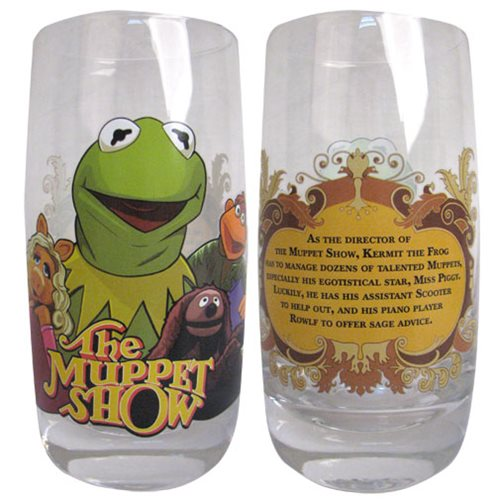 Muppets Kermit Tumbler Pint Glass