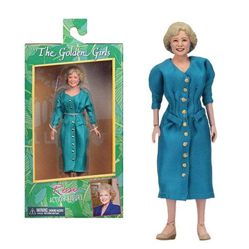 Golden Girls Clothed Rose Action Figure, Not Mint