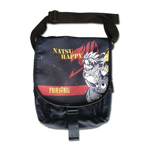 Fairy Tail Natsu and Happy Messenger Bag
