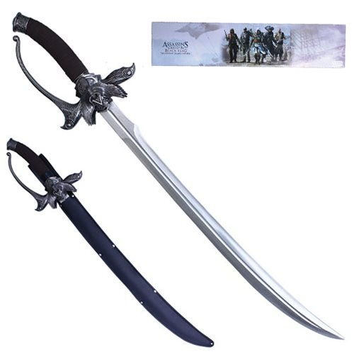 Assassin S Creed Black Flag Kenway Family Sword Prop Replica