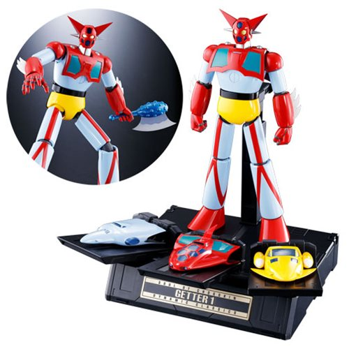 Getter Robo Getter 1 GX-74 Dynamic Classic Soul Of Chogokin Die-Cast Metal Action Figure, Not Mint
