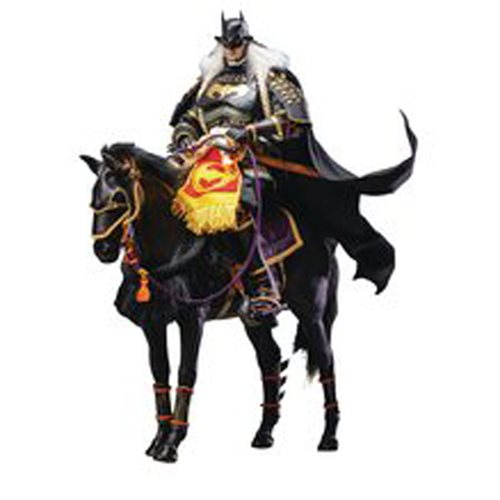 Batman Ninja 2.0 Samurai with Horse Deluxe 1:6 Scale Action Figure